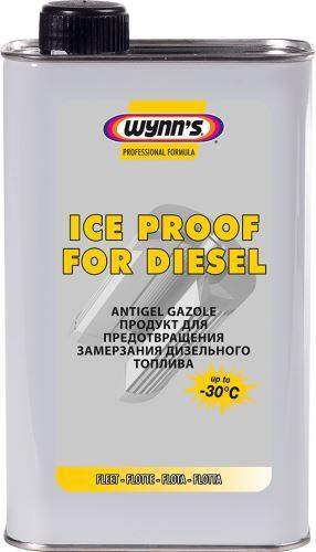 ICE PROOF FOR DIESEL - koncentrát 1000 ml. zimní aditivum proti zamrzání nafty